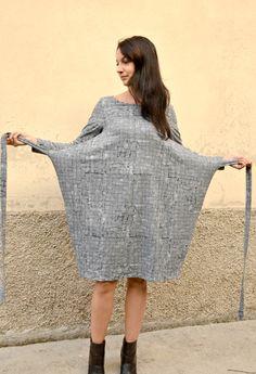 sewing: observer knit kielo wrap dress - kielo-wrap-dress-art-gallery-fabrics Source by sevinc_aslan - Linen Dress Pattern, Dress Sewing Patterns, Casual Dresses, Fashion Dresses, Wrap Dresses, Dressmaking, Diy Clothes, Knit Dress, Art Gallery