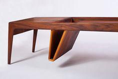 Ali Sandifer Studio Mag hardwood table