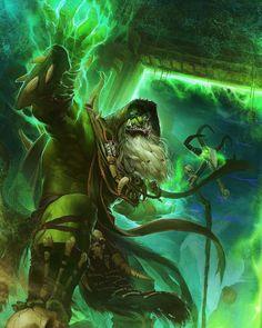 Gul& Entertainment,фэндомы,DSL ART,World of Warcraft,Warcraft art World Of Warcraft, Art Warcraft, Dark Fantasy Art, Fantasy Artwork, Fantasy World, High Fantasy, Black Mage, Heroes Of The Storm, Wow Art