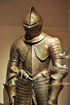 Cuirassier armor, France, circa 1600.