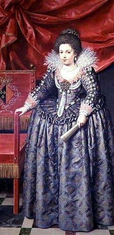 Frans, the Younger Pourbus, Portrait of Elizabeth of France 1602-44 daughter of Henri IV and Marie de' Medici, 1611