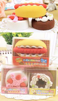 Kawaii Iwako food eraser