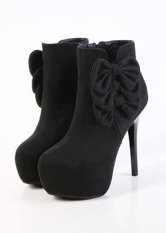 Zippers Short Flower Boots