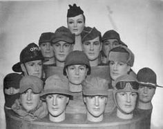 Some of the Hats and Caps Used in World War II good info for different hats in WW2