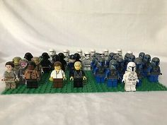 LEGO LOT OF 25 NEW HEADS LADY VAMPIRE GLOW IN THE DARK MINIFIGURE DUAL SIDED