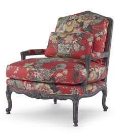 Pearson 1492 French Bergere in Coral Print