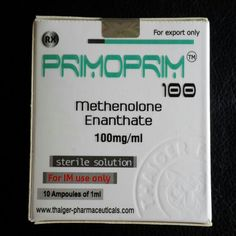 Thaiger Pharma Primoprim 100mg 1ml*10amp (Methenlone Enanthate)shipped worlwide  without prescription at low price http://tinyurl.com/pz92dvm