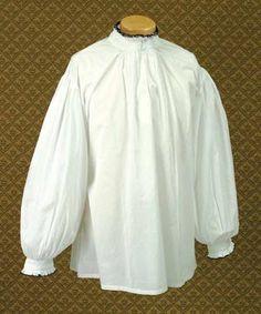 Courtly Renaissance Shirt: Renaissance Costumes, Medieval Clothing, Madrigal Costume: The Tudor Shoppe