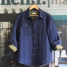 De la influencia deportiva chaqueta acolchada #quilted #trendy #newdesign #NeimMarket #denimjacket