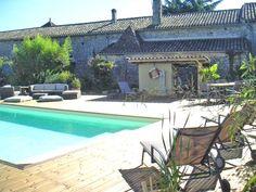 Gite rural dans le Bordelais, en Gironde, avec piscine