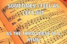 Feeling left out… They always say the 'let's only sing the and - Humor Church Jokes, Christian Jokes, Christian Life, Bible Humor, Catholic Memes, Religious Humor, Feeling Left Out, Laughter The Best Medicine, Music Humor