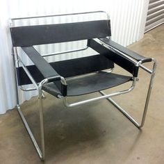 Marcel Breuer Wassily Chair now featured on Fab.