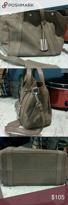 NWOT Madewell Stockholm Satchel Brand new. Mink is the color. Comes from a smoke free home. Madewell Bags