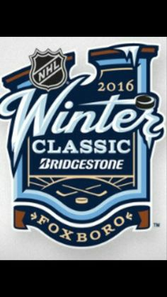 2016 NHL Winter Classic with the Boston Bruins and Montreal Canadiens will take place at Gillette Stadium located in Foxborough, Massachusetts, 21 miles km) southwest of downtown Boston and 20 miles km) from downtown Providence, Rhode Island. Hockey Logos, Nhl Logos, Hockey Teams, Ice Hockey, Sports Logos, Hockey Rules, Hockey Stuff, Montreal Canadiens, French Logo