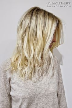 So beautiful!.      BABY BLONDE. Hair Color by Johnny Ramirez • IG: @johnnyramirez1