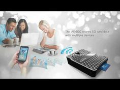 DashDrive™ Air AE400 Wireless Storage Reader with Power Bank_Air_Mobile Accessories_Products_ADATA Technology