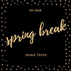 Five spring break road trips in about five hours from Chicagoland #springbreak #roadtrip #myBAB