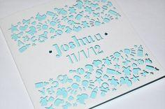 Laser Cut Personalised New by sweetpeadesignUK on Etsy, £2.99