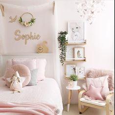 Loving this sweet pink room by 💕💕 Girls Fairy Bedroom, Ikea Girls Bedroom, Pink Bedroom For Girls, Pink Room, Little Girl Rooms, Bedroom Decor, Childrens Bedrooms Girls, Ballerina Room, Toddler Rooms