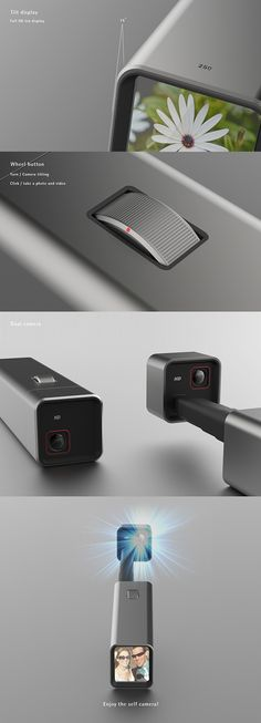 Self camera on Behance