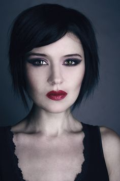 Donata as a Vampire http://www.makeupbee.com/look.php?look_id=68027