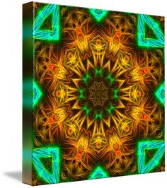 Noda Noodle Mandala II by Richard H. Jones