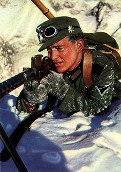 German Mountain trooper