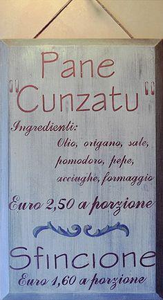 Pane Cunzato a #Scopello. Ingredients: oil, oregano, salt, tomato, pepper, anchovies, cheese.