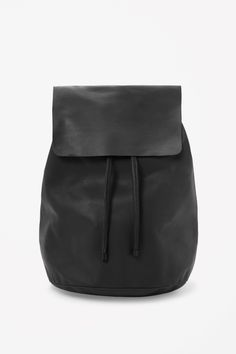 COS | Soft leather backpack