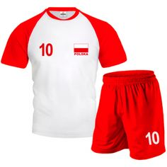 POLSKA Komplet Siatkarski z Własnym Nadrukiem Volleyball, Gym Men, Sports, Tops, Fashion, Poland, Clothing, Moda, La Mode