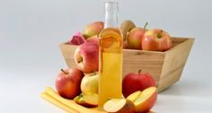 Apple cider vinegar - Start your morning with a 6 or 8 ounce glass of water mixed with a teaspoon of apple cider vinegar and little honey. You can also add the vinegar to any juice.