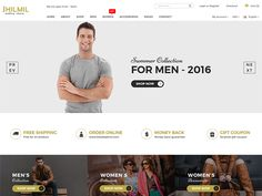 Jhilmil - eCommerce Bootstarp Template by DevItems LLC