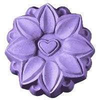 Lotus Soap Mold - Good for cold process, hot process and melt and pour soap making.