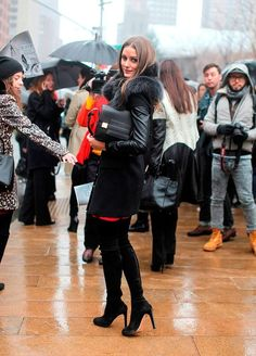 Boots in fashion Olivia Palermo