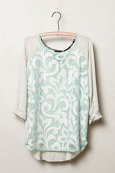 Filigree Lace Top from Anthropologie