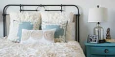 Not about decor, but I love this look.... 6 Reasons You Should Make Your Bed Every Day