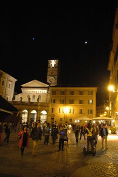 Roma Santa Maria in Trastevere with segwayrome tours