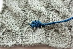 AMAZING article on how to fix common knitting errors!! this is a gold mine!!!