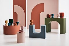 Lightly 'Second Nature' Homeware Collection Celebrates Sensitivity – Trendland Online Magazine Curating the Web since 2006 Color Plan, Bring Them Home, Outdoor Restaurant, Nature Collection, Indoor Planters, Architectural Features, Glass House, Basic Colors, Design Crafts