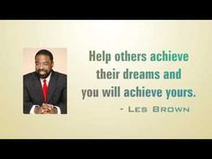 Les Brown Quotes Quotes from some of the most successful Great Quotes, Quotes To Live By, Quotes Quotes, Motivational Videos, Inspirational Quotes, Les Brown Quotes, I Will Rise, Life Purpose, Meaningful Quotes