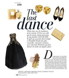 Save the Last Dance. by cupcakebandit on Polyvore featuring polyvore, fashion, style, Marchesa, Charlotte Olympia, Yves Saint Laurent, Elizabeth Arden and Anja