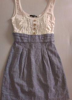 Kaufe meinen Artikel bei #Kleiderkreisel http://www.kleiderkreisel.de/damenmode/kurze-kleider/95124686-kurzes-sommerkleid-in-blau-und-weiss-von-tally-weijl