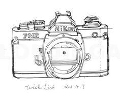 I draw cameras