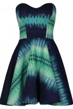 tye dye skater dress #love #cute #girl #fallfashion #homecoming