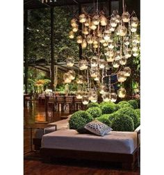 Outdoor lighting we love! Find more design ideas for your home…