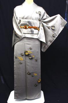 正絹訪問着レンタルフルセット「作家作品 楕円に花」 | レンタル着物,訪問着レンタル | きものサロンながしま
