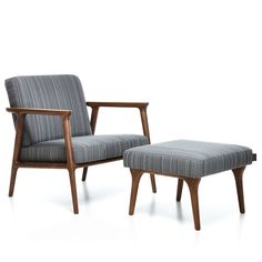 Zio Lounge Chair & Footstool by Moooi on ECC