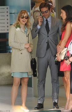 Suki Waterhouse and Bradley Cooper -  At Wimbledon 2013