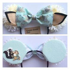 Minnie Ears Bambi Set UPDATED by ComicGeekOut on Etsy https://www.etsy.com/listing/207665173/minnie-ears-bambi-set-updated