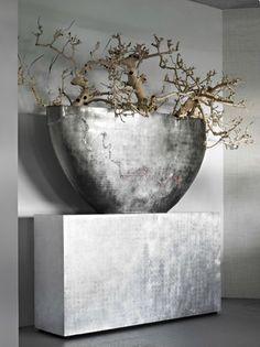 15 Indoor Plants and Flower Arrangements - Home Decoration Ikebana, Design Vase, Decoration Design, Home Decor Accessories, Decorative Accessories, Deco Addict, Wabi Sabi, Indoor Plants, Interior Styling
